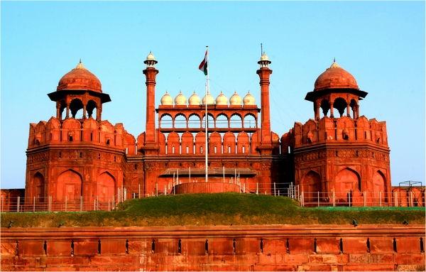 червената крепост в Делхи