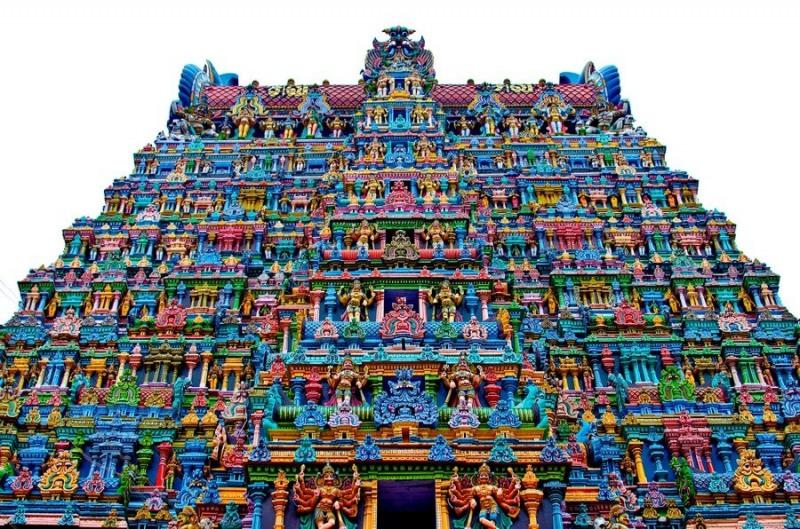 храм Минакши в Индия