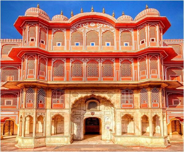 розовият град Джайпур