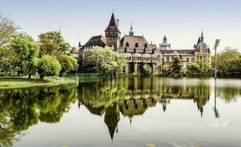градския парк в Будапеща