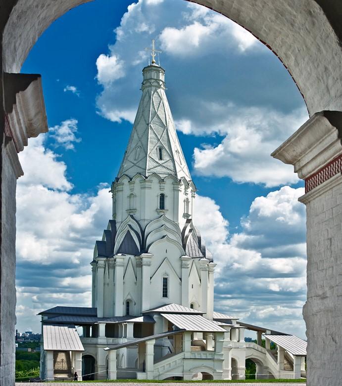 църквата възнесение в коломенское