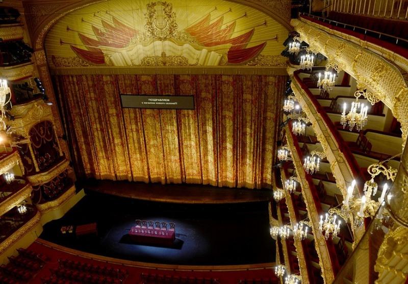 Болшой театър отвътре
