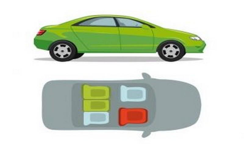 сигурни места в кола