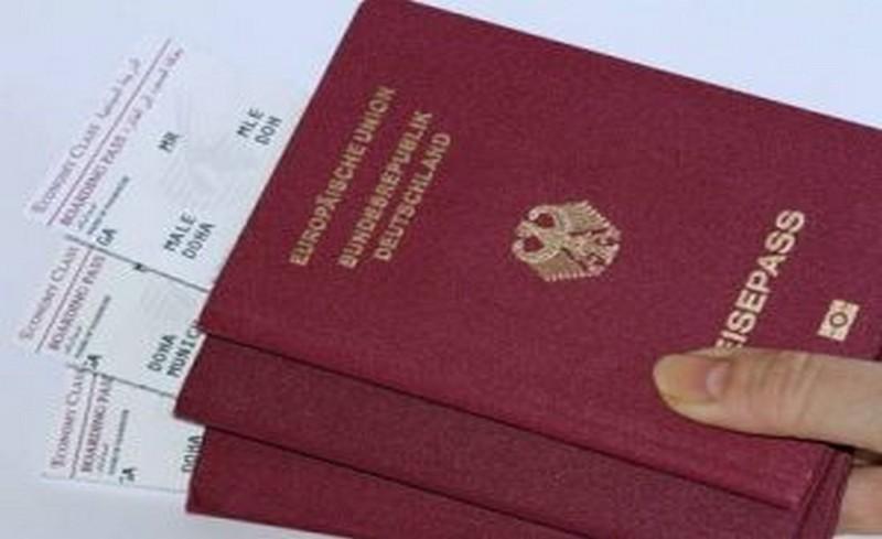 червен паспорт