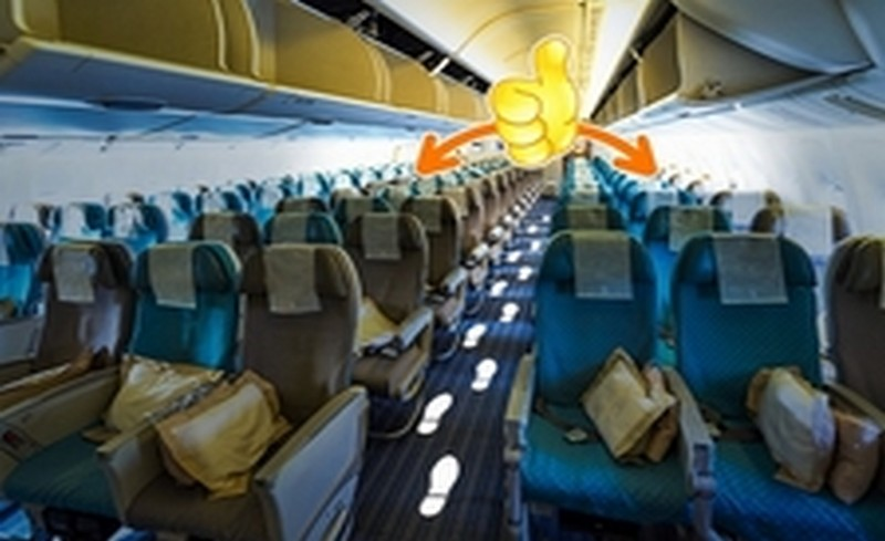 седалки в самолета