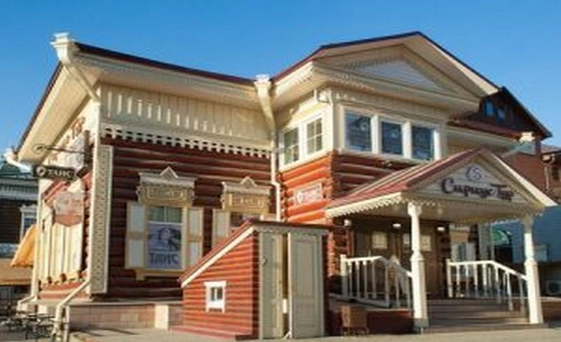 стара къща в Иркутск