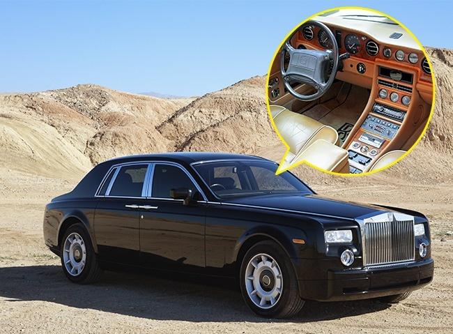 Дървото, използвано за облицоване на салоните на автомобилите Rolls-Royce, расте само в Мароко