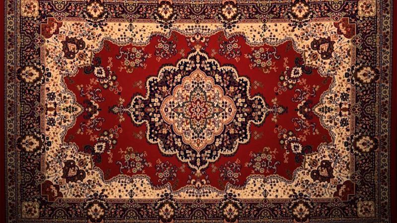 руски килим на стена