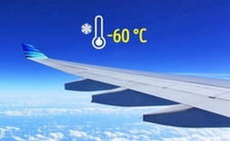 температурата извън самолета