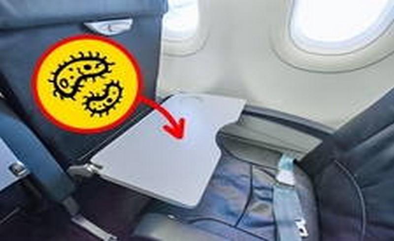 сгъваеми маси в самолет
