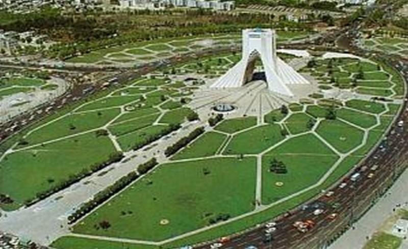 площад Азади в Техеран