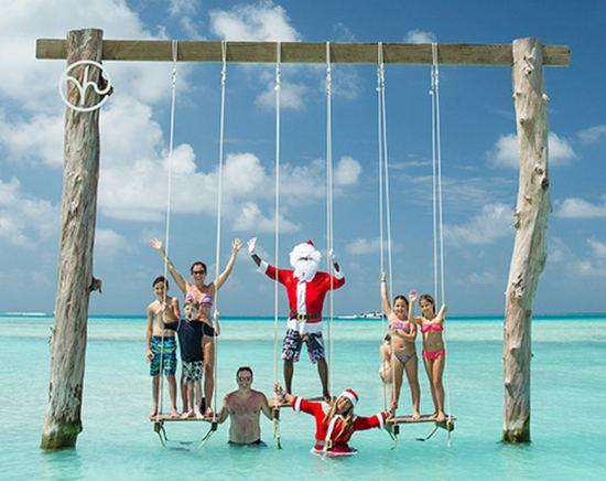 как се посреща нова година на малдивите